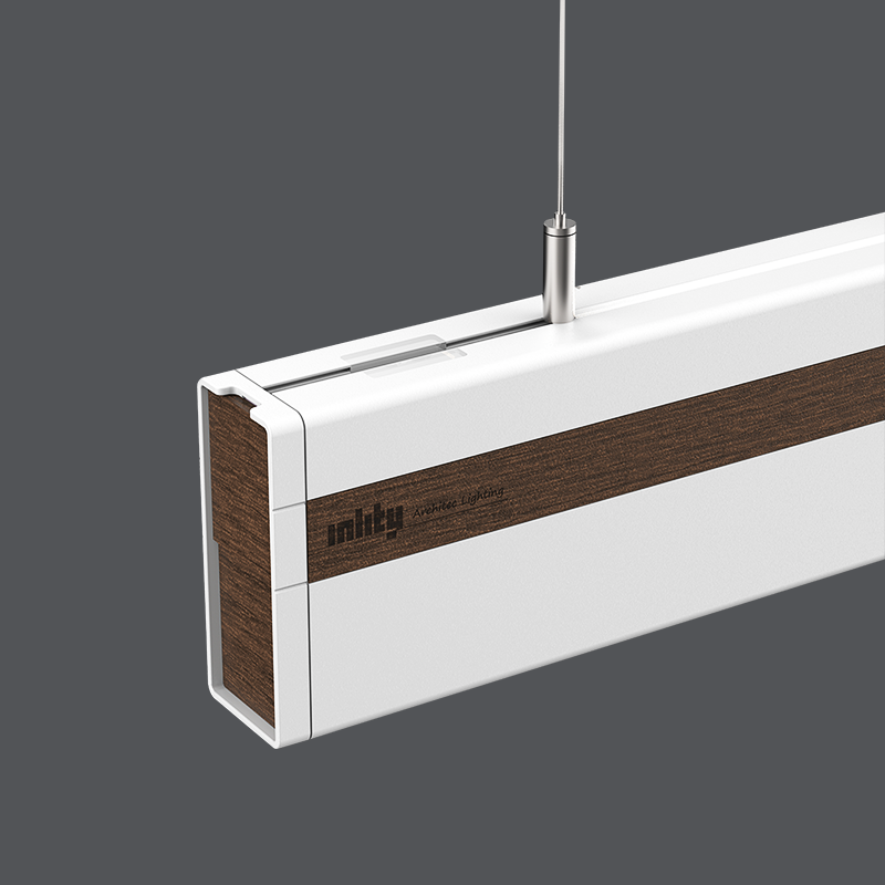 2020 Energy-efficient 18w SuspendedL1200*W40*H96mm Office Ra80 from China Manufactory LEDLinear Light