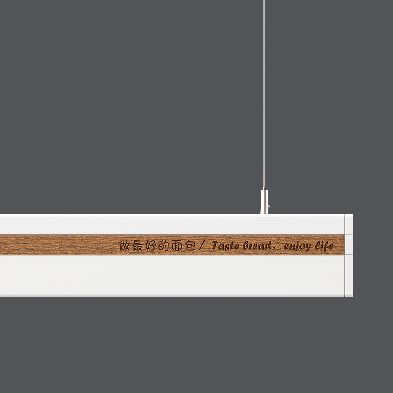 led linear trunking light Trunking system LED linear light connect 1 by1 no dark, beam angle 150degree LED linear light