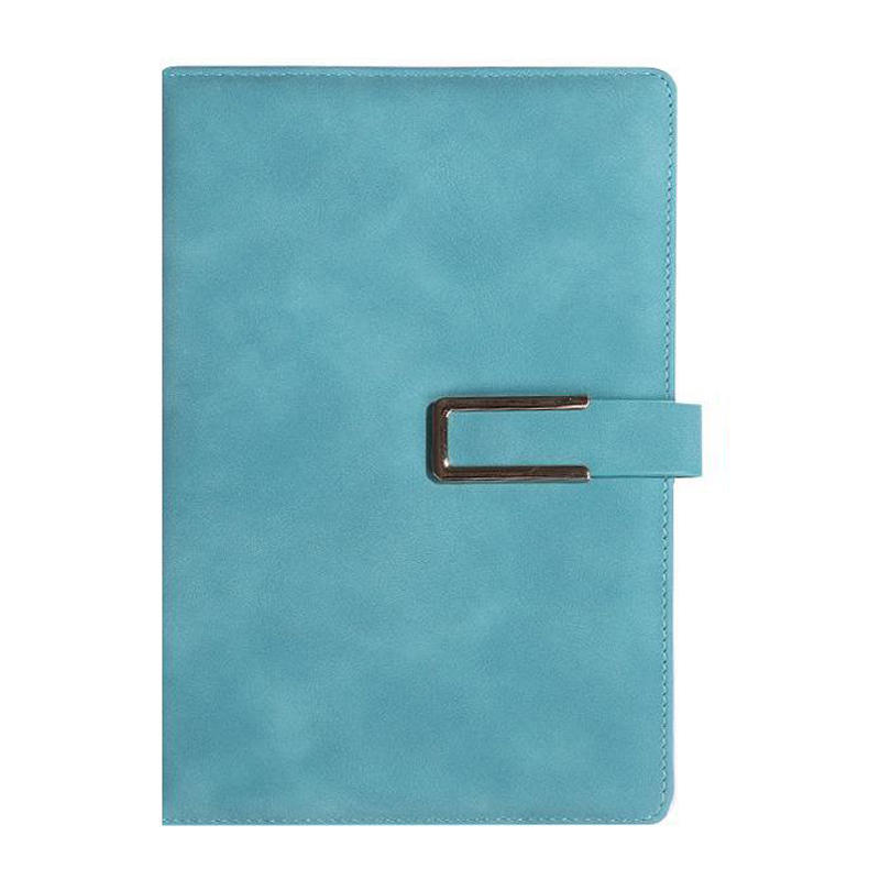 product-Dezheng-Hot popular customized colorful PU leather planner notebook with elastic band-img-1
