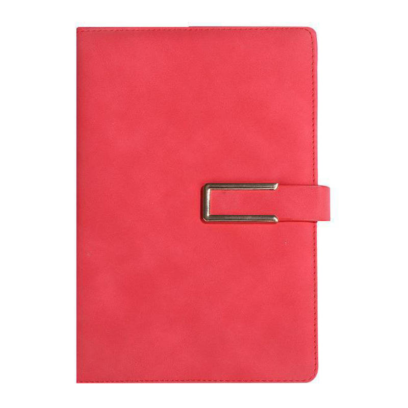Hot popular customized colorful PU leather planner notebook with elastic band