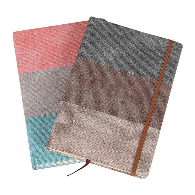 Free Sample Custom 2021-2022 Weekly planner Hardcover Journal Agenda Daily Weekly Monthly Organizer Planner Notebook