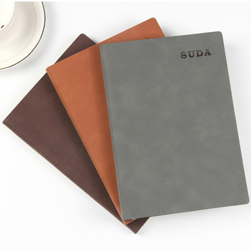 product-Dezheng-High quality free sample personalized printed pu leather custom a5 soft cover dotted-1