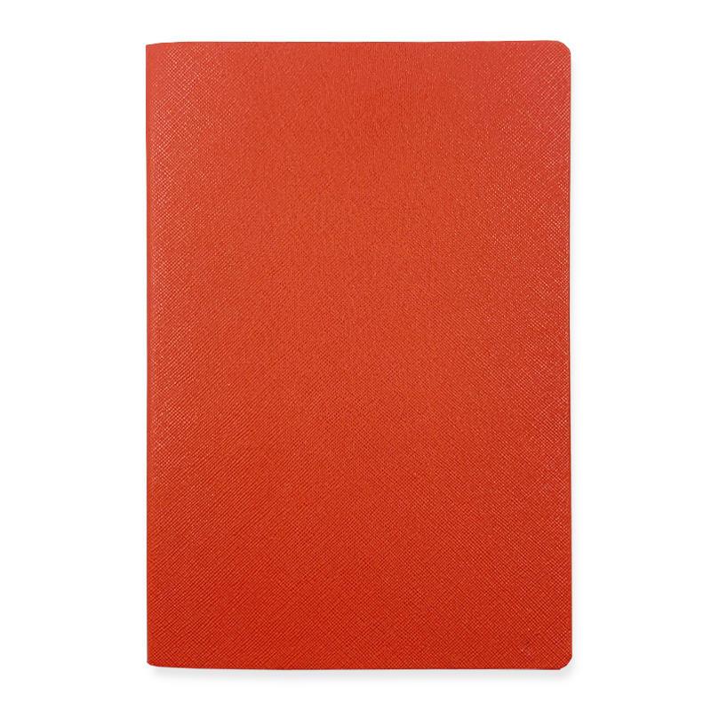 Custom logo cute gold edge notebook Colorful leather pu soft cover notebook