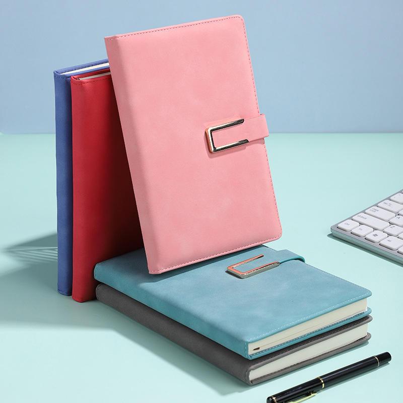 Custom logo hardcover agenda planner journal notebook