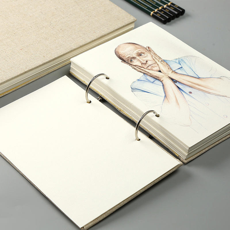 Multi Function Professional Sketch Book Watercolor Notebook Custom Wholesale