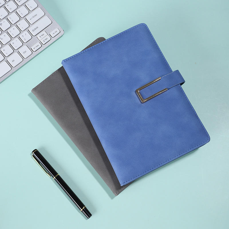 Promotional Custom Logo Personalized Notepad Journal Hardcover PU Leather Notebook