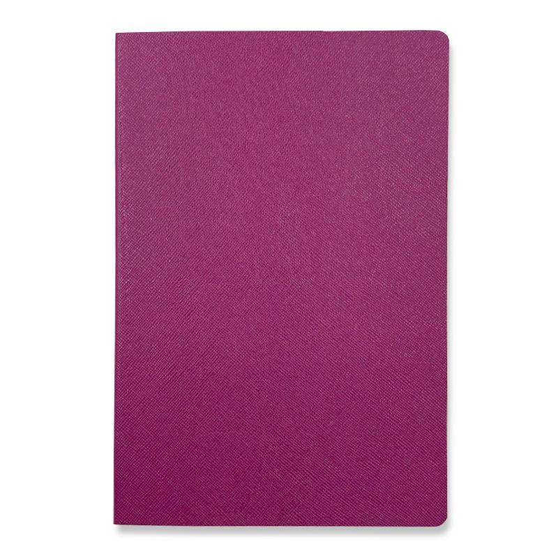 Custom logo Original design school student notebooks Soft Cover pu leather journals notebook