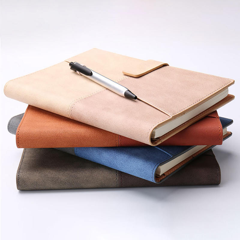 Factory manufacturer supplier a5 school diary design PU Leather Notebook