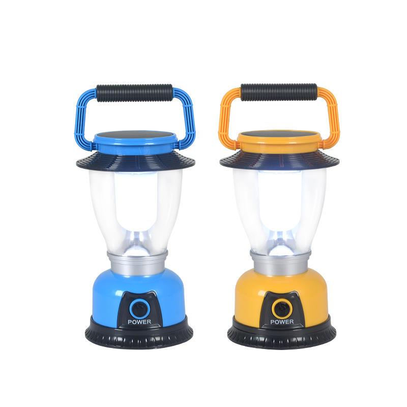 ALLTOP Hot selling 6 LED Rechargeable Solar led Lantern solar led camping light