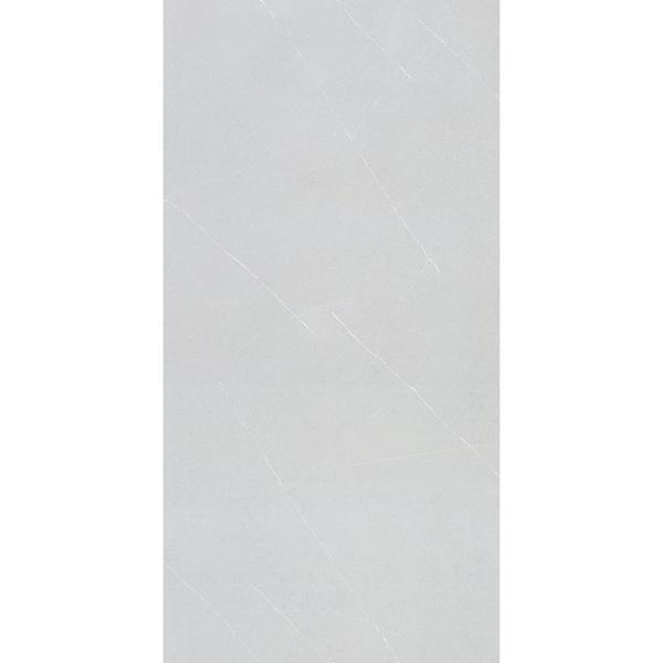 Surface Polished Artificial Stone Grey Quartz Slab