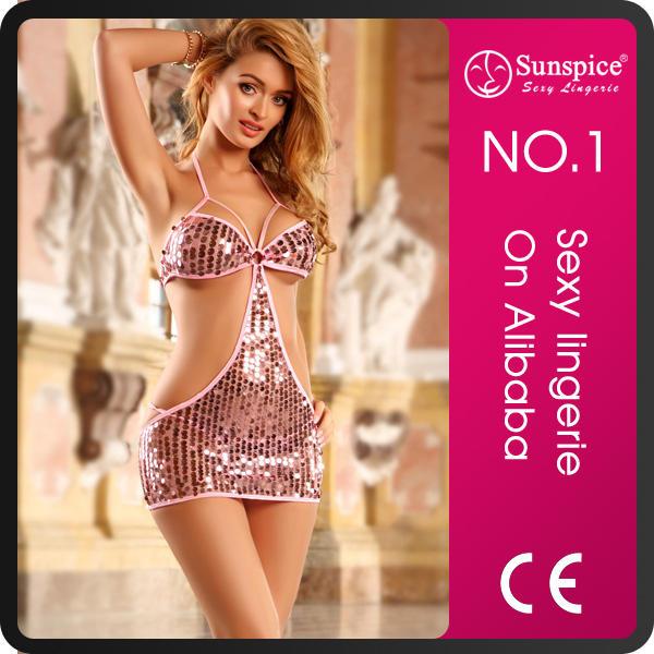 hot sales sheer transparent lingerie