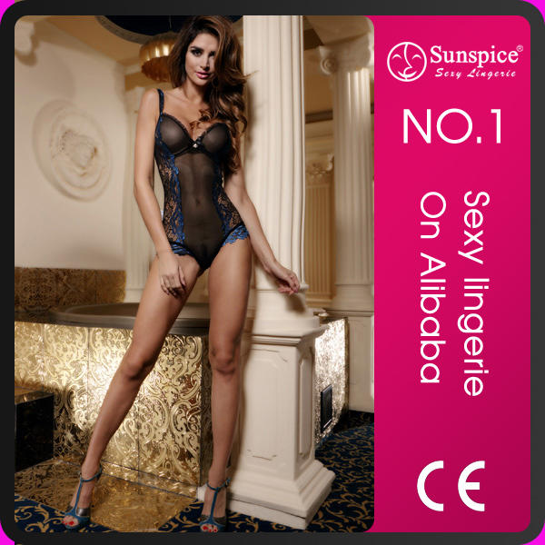2017 Sunspice lace full set teddy suit lingerie sexy