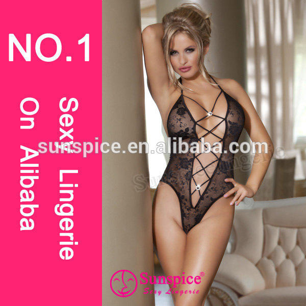 2015 High quality hot sales sexy teddy lingerie transparent lace lingerie charm women sexy teddies