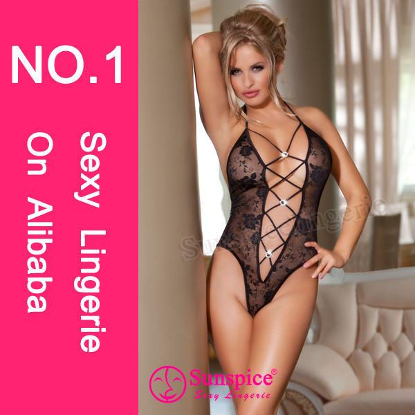 2015 New design, latest sheer mature plus size women sexy lingerie