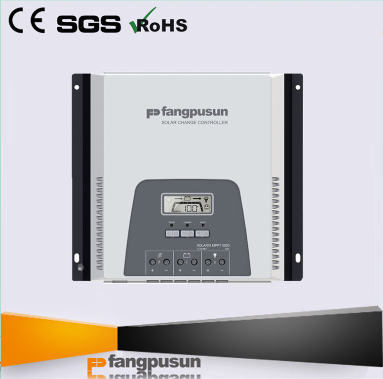 * Fangpusun 3000W Solar Panel Power 12V 24V 48V Rated Voltage 30A 50A MPPT Solar Charge Controller with WiFi for Lithium Battery