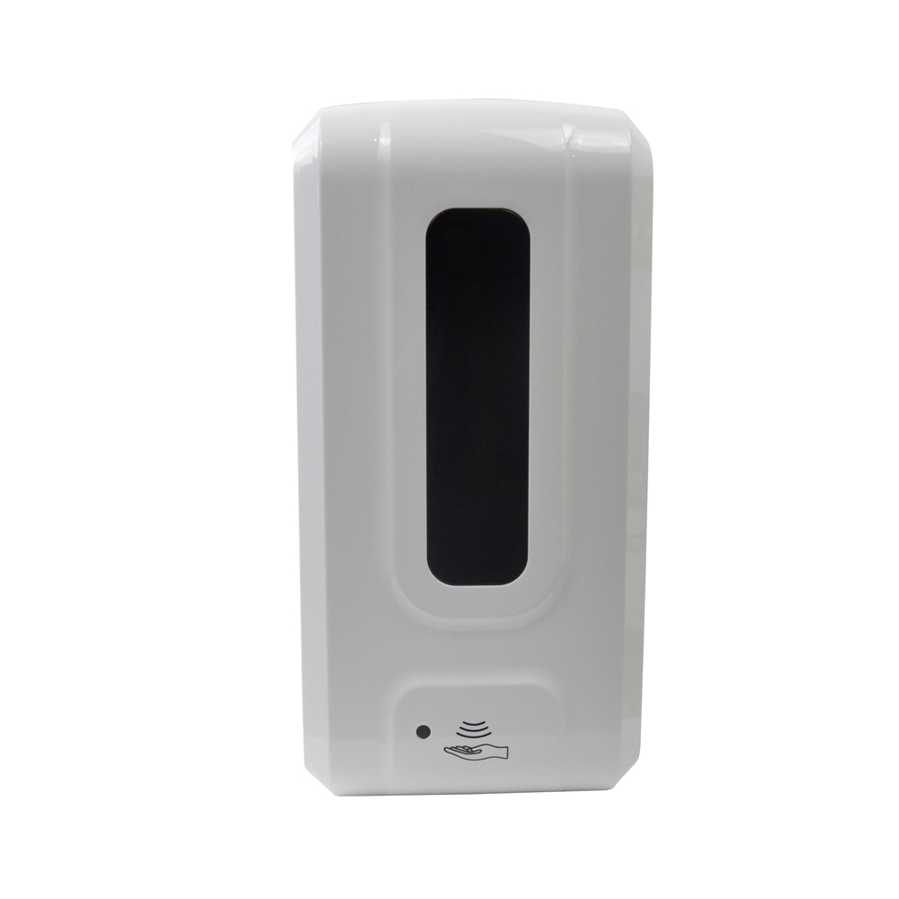 Electronic alcohol liquid foam hand sanitizer wall-mounted automatic induction soap dispenser