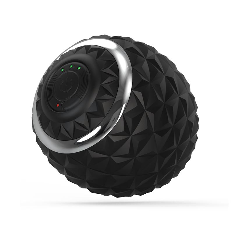 Electronic Fitness Fascia Silicone Vibrating Massage Ball Usb