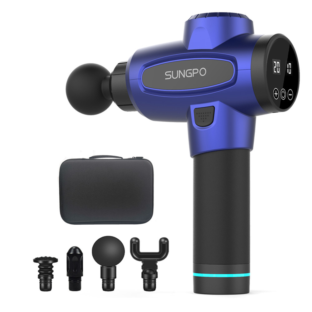 Multifunctional portable Muscle Fitness Professional Handle sports deep tissue massage gun