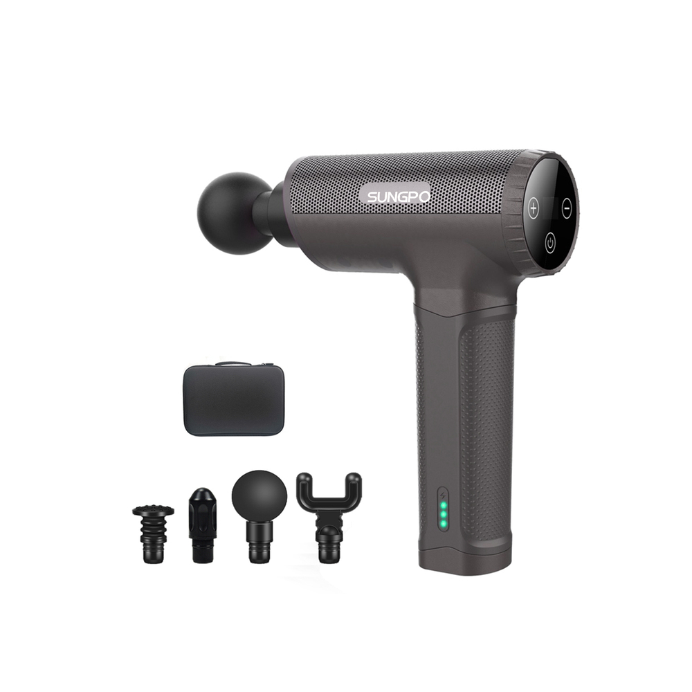 NewCordless High Frequency Massage Gun with Low Noise MINI Muscle Vibration Massage Gun