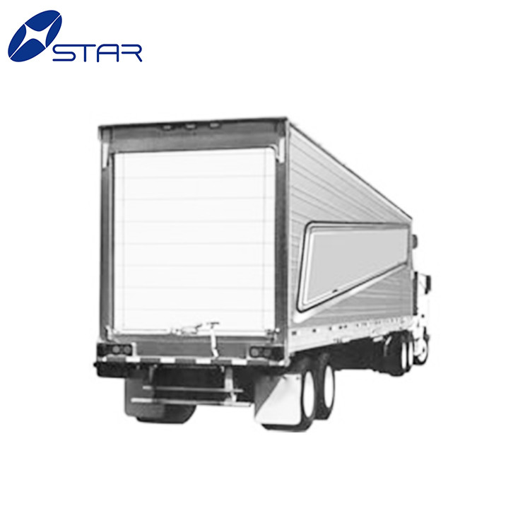 Heat isolation chiller truck roller shutter door