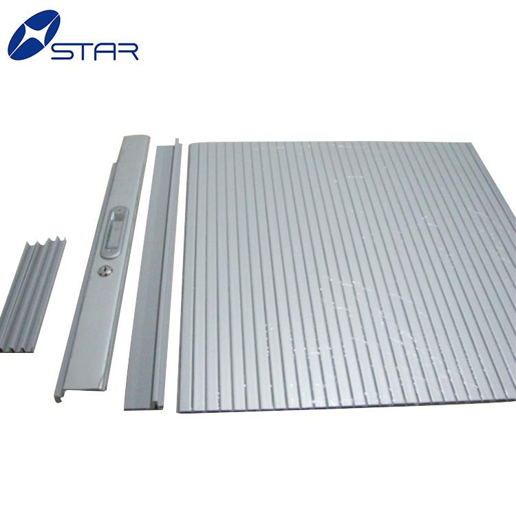 Tailor Made Kitchen Cabinet Aluminum Vertical Rolling Shutter Door