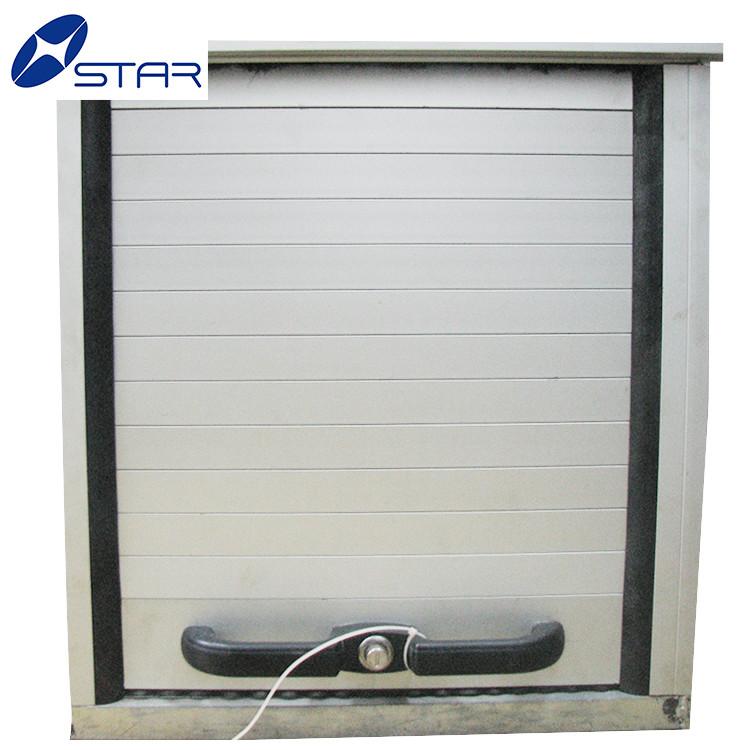 Truck pvc kitchen cabinet door rolling shutter door cabinet