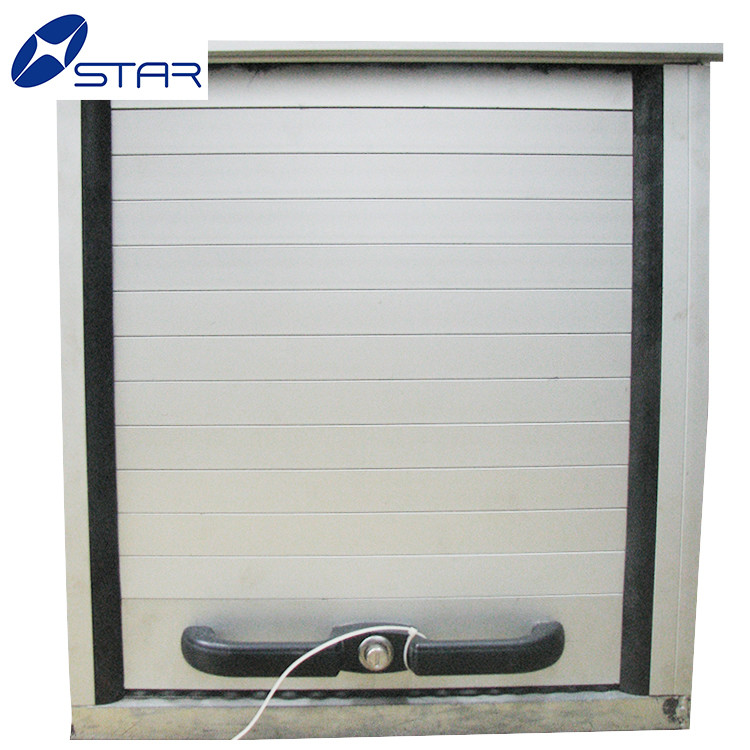 Wood grainy roll up door for furniture