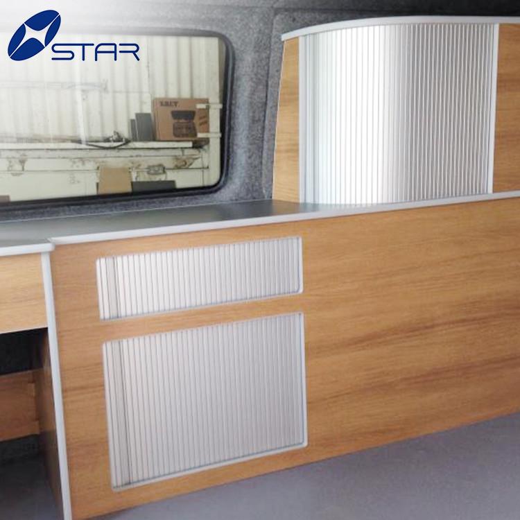 kitchen cabinet roller shutter door for truck