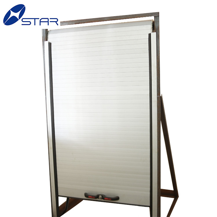 plastic/aluminum automatic vehicle trailer roll up door in china