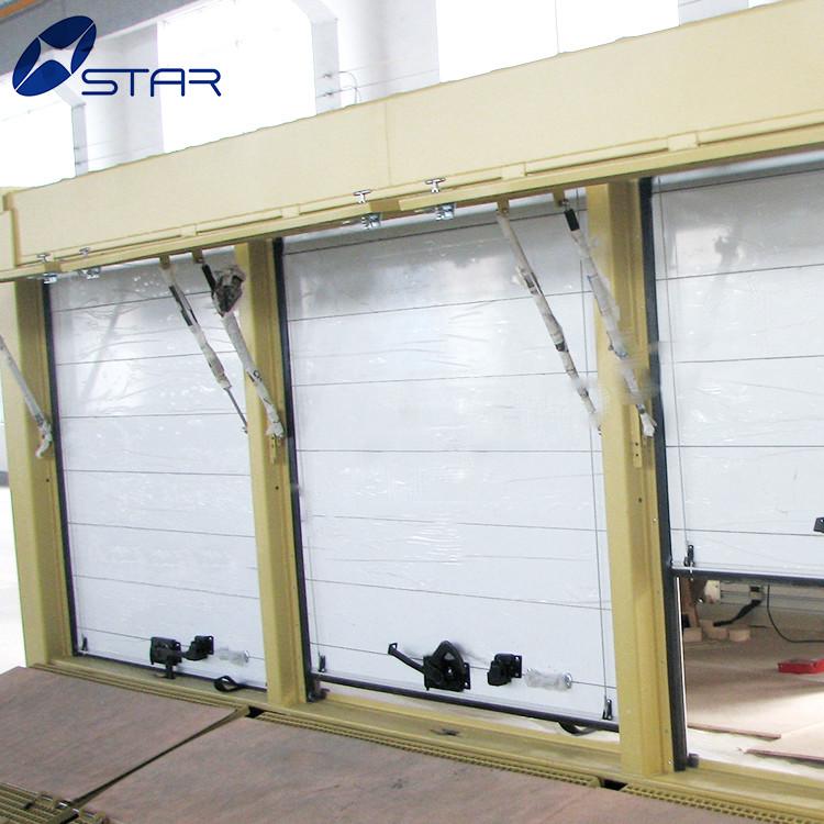 Customized 1.2m-2.4m PVC vertical automatic roller shutter door