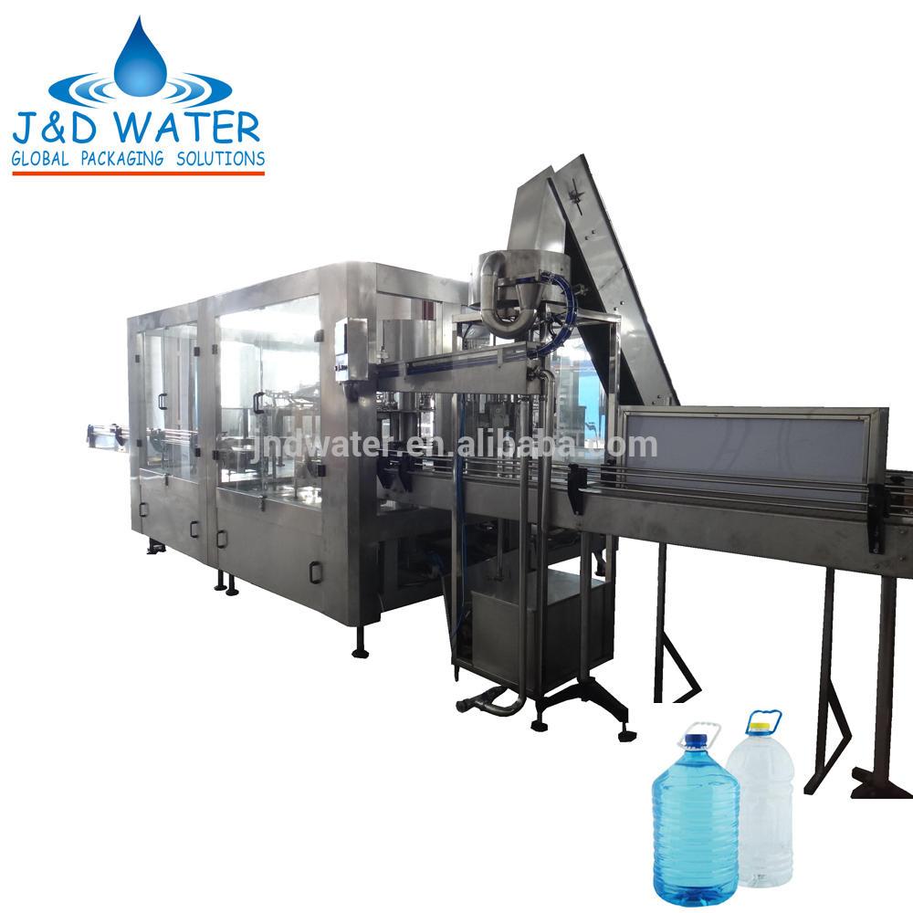 3 IN 1 5-10 Liter Bottled Water Filling Machine