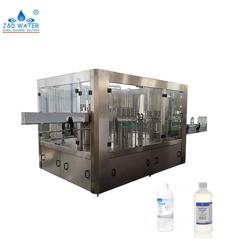 Automatic Plastic Bottle Alcohol Filling Machine