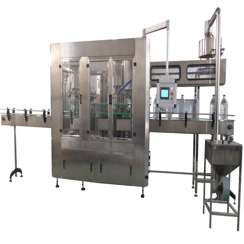 Automatic 3 in 1 3-10 L Pet Bottle Water WashingFillingCapping Machine for pure Machine