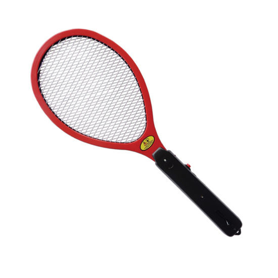 2 AA Batteries Operated Hand Racket Electric Mosquito Swatter Insect Home Garden Fly Mosquito Zapper