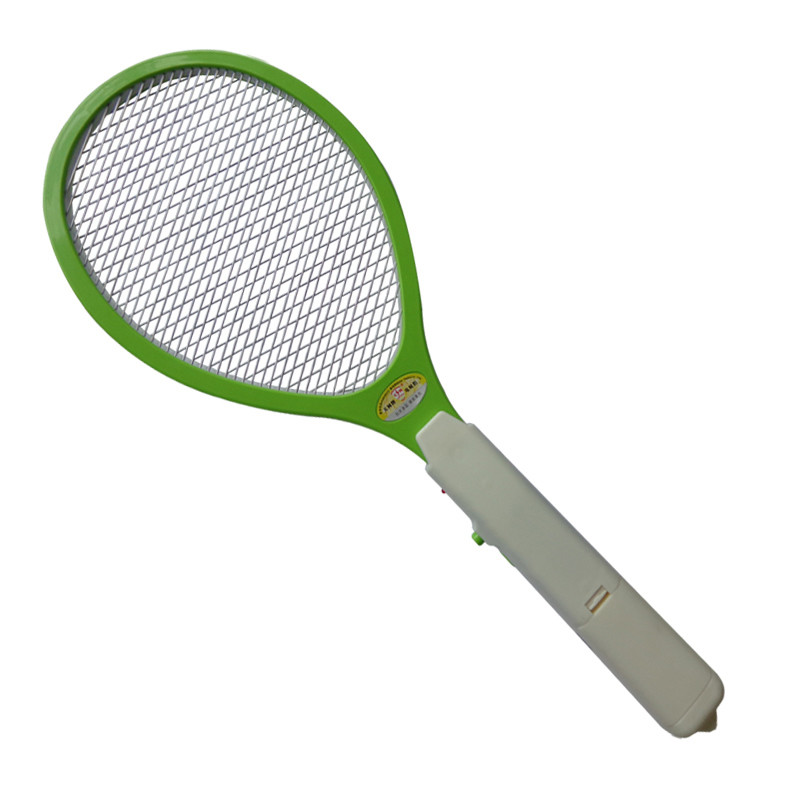 2 AA Batteries Operated Hand Racket Electric Mosquito Swatter Insect Home Garden Pest Bug Fly Mosquito Zapper