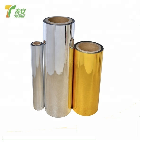 Polyester Metalized Thermal Lamination Film For Food Packing