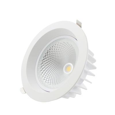 Anti-fog Hotel 30W Recessed Adjustable COB LED Downlight