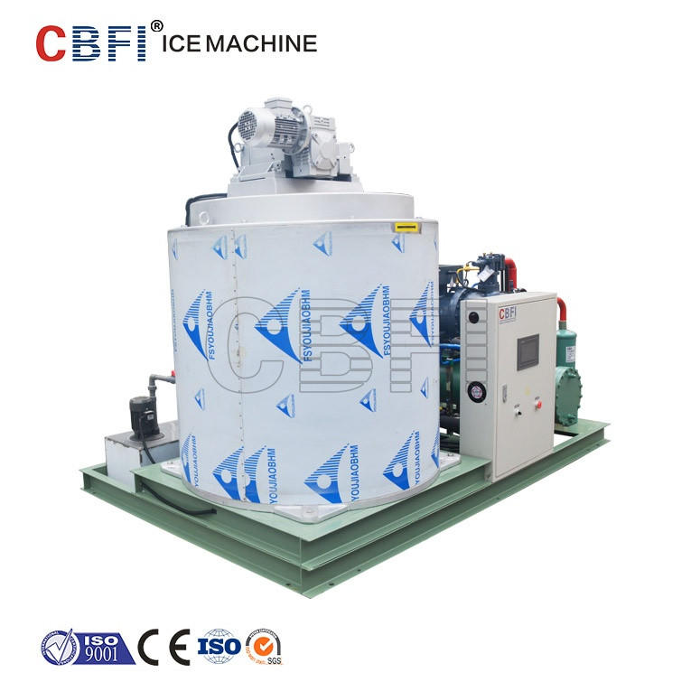 Factory direct selling snow ice flake machine maker salt water with high quality