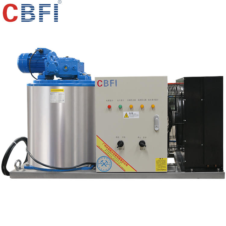 Factory hot sale 1t flake ice machine 3 ton for wholesale