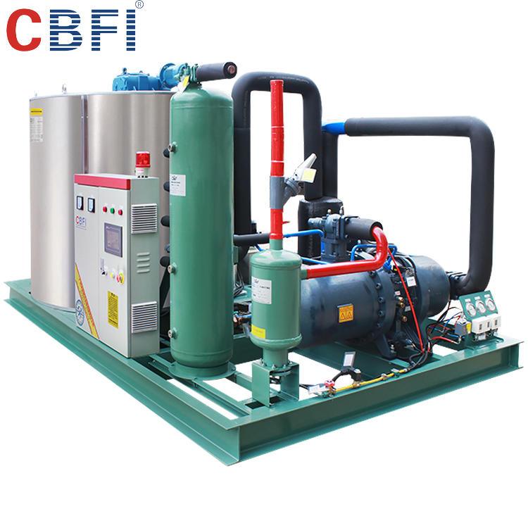 CBFI Factory directly automatic salt water flake ice machine