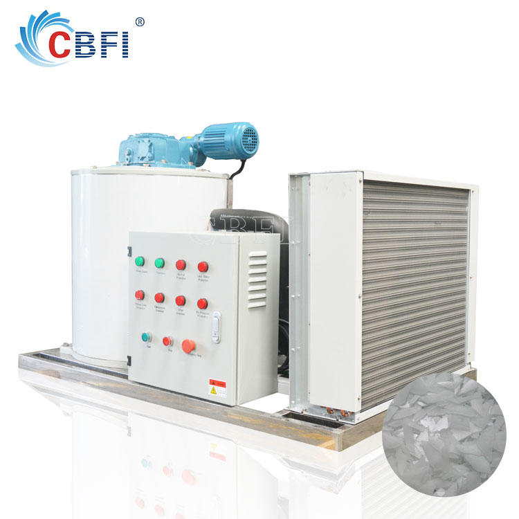Fishery industry ice flakes maker used in Philippines
