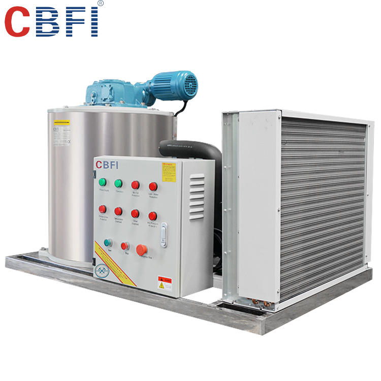 Seawater flake ice machine for sale