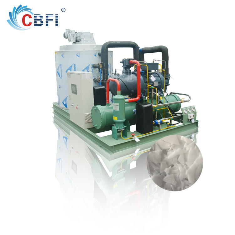 CBFI Flake Ice Machine Manufacturer, Flake ice for fish factory