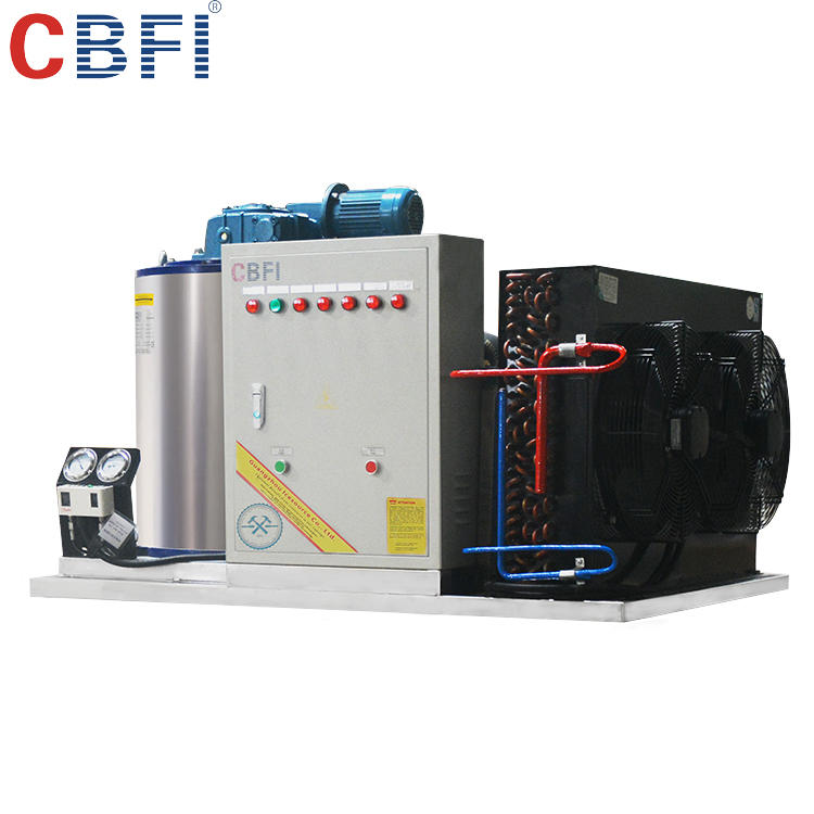 CE certified water-cooled flake ice machine