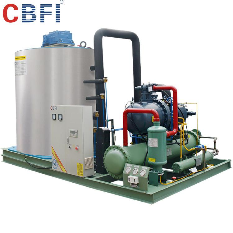 CBFI Factory directly automatic salt water flake ice machine
