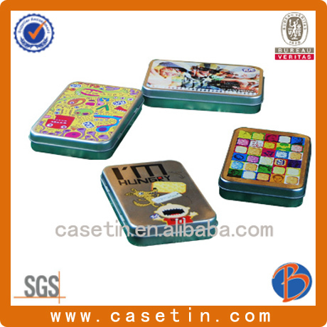 card stash cans small tin containers metal pill box