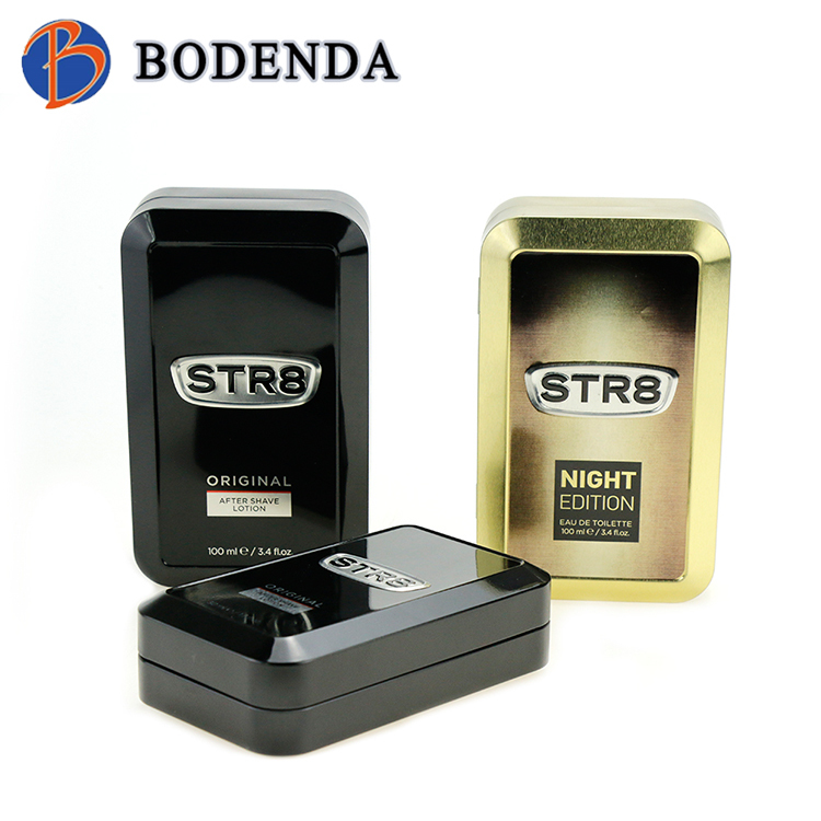 wholesale packing boxes Perfume tin boxes