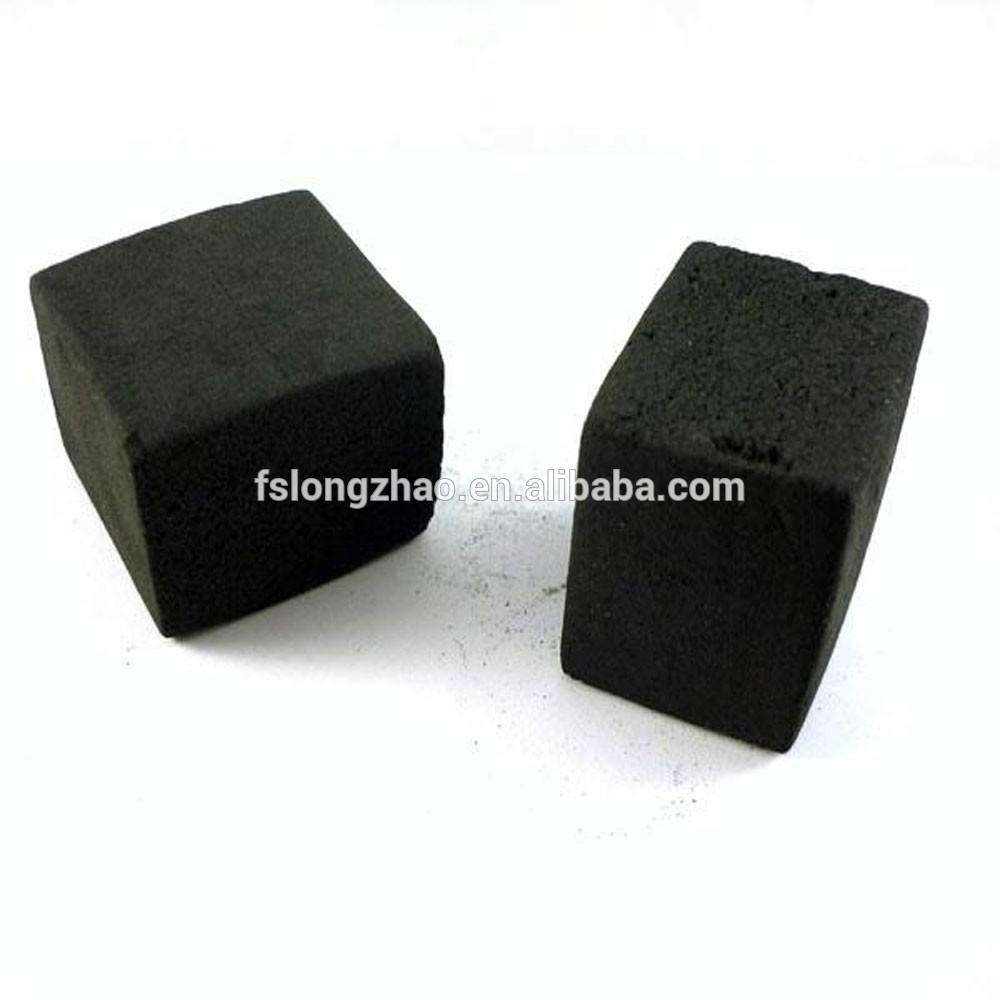 1.5 hours long burning time shisha cube charcoal
