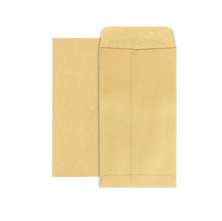 product-Brown Expanded Small Kraft Paper Seal Water Glue Envelope-Dezheng-img-1