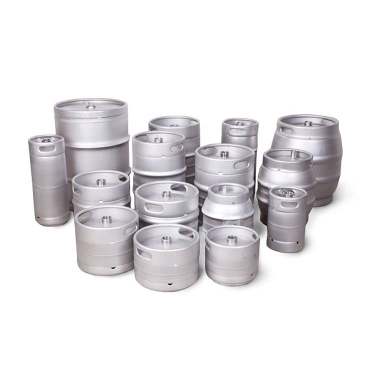 Custom Design CE Approved Empty Commercial Brew Customized keg 2l 30l stainless steel beer barrel